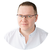 Photo of Cezary Tomczyk, CTO of eSSENTIAL Accessibility